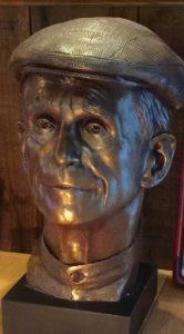 Dan Berrigan Bust sculpted by Lado Goudjabidze