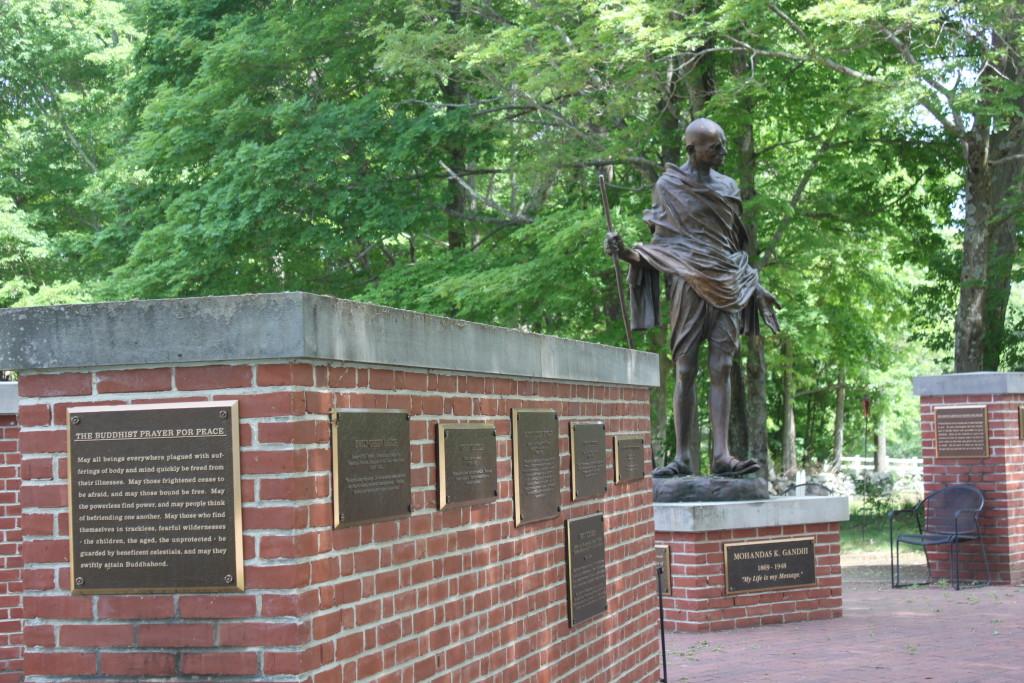 Statue of Gandhi